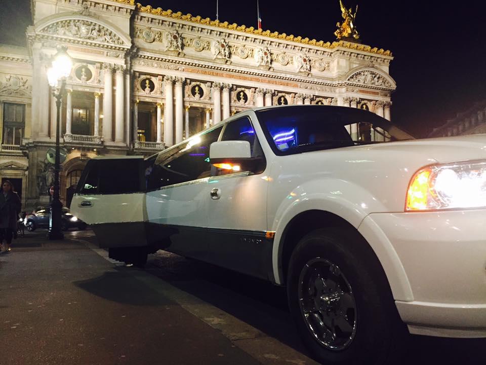 Soirée VIP en limousine LINCOLN