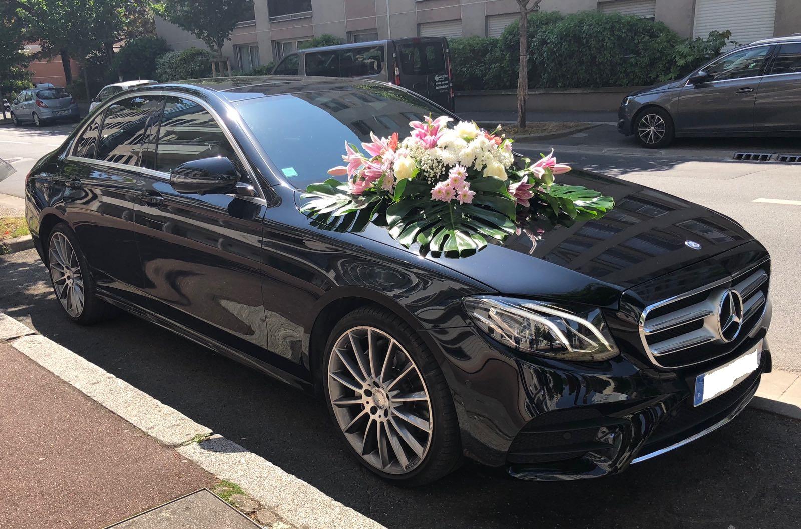 Mercedes class E pour mariage