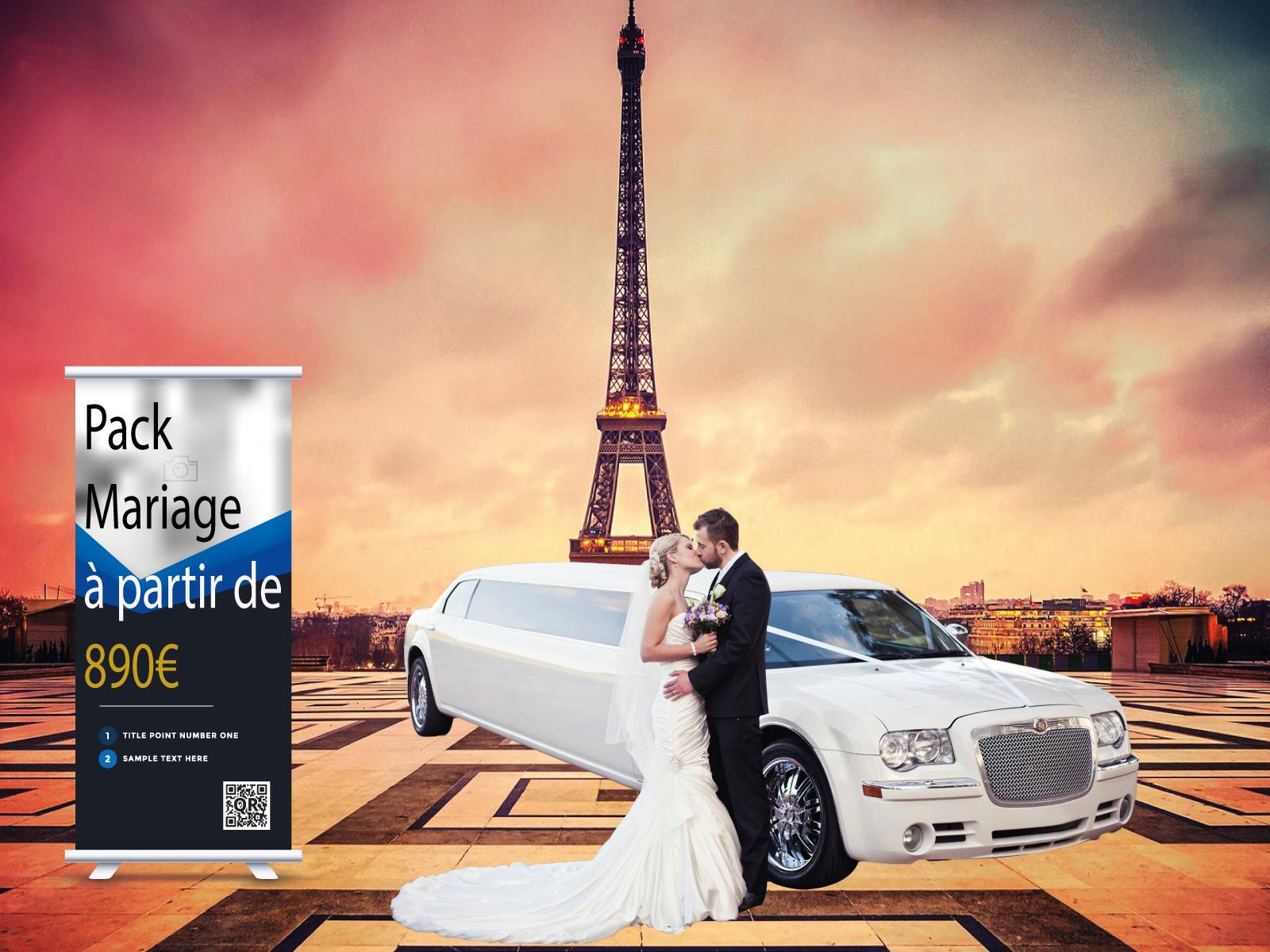 location limousine chrysler 300C mariage paris